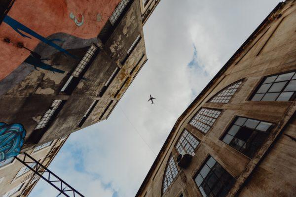 Fliegen mit einer Häkelnadel